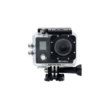 Sandberg ActionCam 4K Waterproof + WiFi, Black