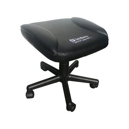 Gamer fodskammel Sandberg Gaming Foot Stool - sort