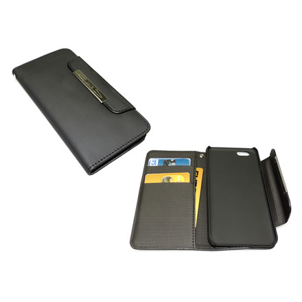 Sandberg iPhone 6 Flip wallet, Black skin