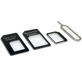 Sandberg SIM Adapter Kit 4in1