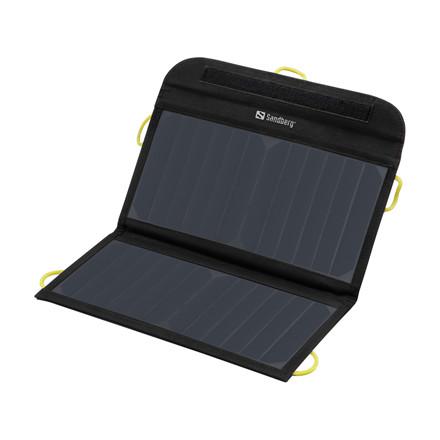 Sandberg Solar Charger 13W 2xUSB, Black