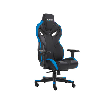 Gaming Chair Sandberg Voodoo - sort blå