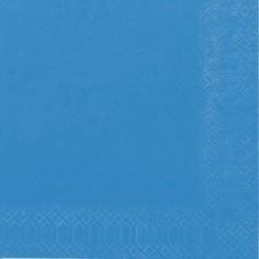 Servietter 2-lags Duni Pacific Blue 33cm 2000stk/Kar