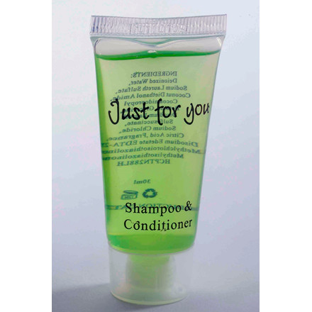 "Hotelsæbe Shampoo & Conditioner 20 ml tube ""Just For You"" - 100 stk"