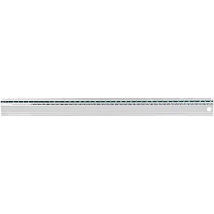 Sikkerhedslineal | længde 40 cm