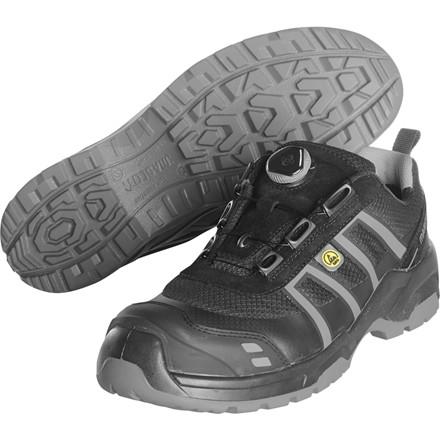 Sikkerhedssko, Mascot Footwear Flex, 42, grå, Tekstil, S1P, SRC, ESD, med boa-lukning, stigegreb, metalfri, herre