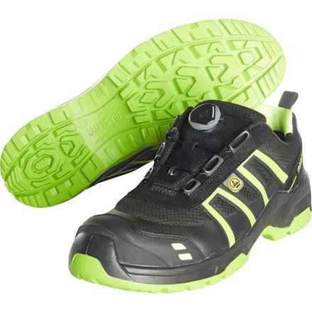 Sikkerhedssko, Mascot Footwear Flex, 48, grøn, Tekstil, S1P, SRC, ESD, med boa-lukning, stigegreb, metalfri, herre