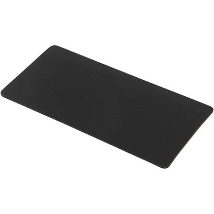 Silikoneplade, str. 15,5x7,3 cm, tykkelse 2 mm, 1stk.