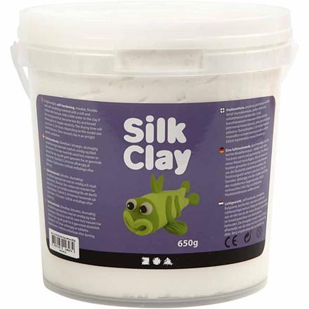 Silk Clay® hvid | 650 gram