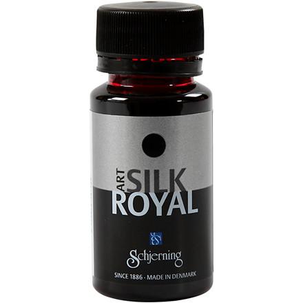 Silkemaling Rød - Silk Royal 50 ml