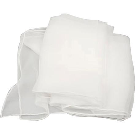 Silke chiffontørklæde størrelse 45 x 180 cm | 15 g/m2