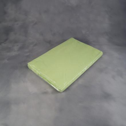 Silkekardus - i grøn med 480 ark i pakken 60 x 80 cm x 25 g plano