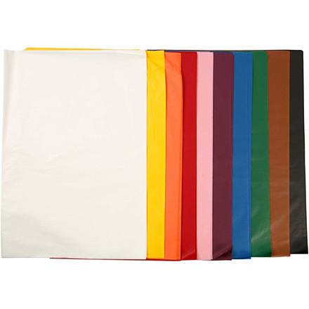 Silkepapir, ark 50x70 cm, 14 g, 10x25ark
