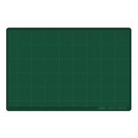 Skæreplade A3 Linex i grøn 3 mm - CM 3045 30 x 45 cm