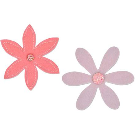 Skæreskabelon diameter 7 cm tykkelse 8 mm | blomster