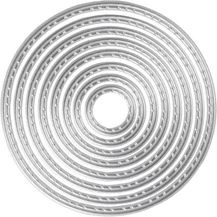 Skæreskabelon diameter 1,5-7,5 cm | cirkler