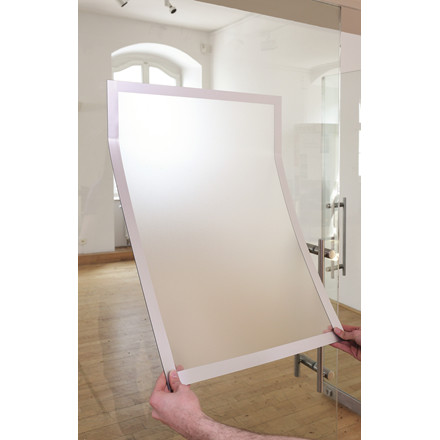 Skilt DURAFRAME® Poster A2 m/sølv ramme