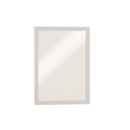 Skilt - selvklæbende A4 DURAFRAME® med hvid ramme 2 stk.