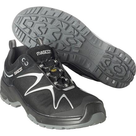 Sko, Mascot Footwear Flex, 35, grå, nylon/Imiteret ruskind, S3, SRC, ESD, med snørebånd, stigegreb, metalfri, dame