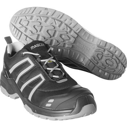 Sko, Mascot Footwear Flex, 40, grå, nylon/Tekstil, S1P, SRC, ESD, med snørebånd, stigegreb, metalfri, herre