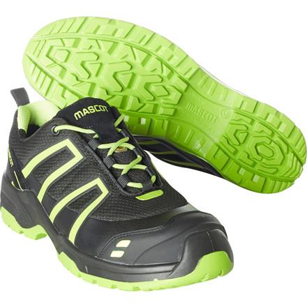 Sko, Mascot Footwear Flex, 46, grøn, nylon/Tekstil, S1P, SRC, ESD, med snørebånd, stigegreb, metalfri, herre