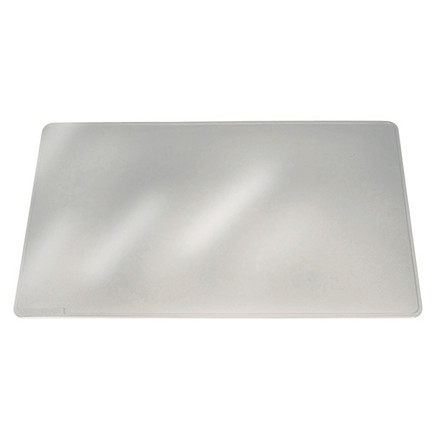 Skriveunderlag transparent - DURAGLAS® 65 x 50 cm