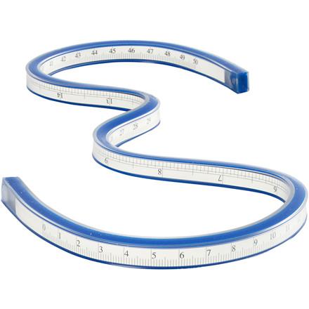 Slange lineal | Længde 50 cm