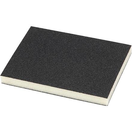 Slibesvamp, str. 9,5x12 cm, tykkelse 12 mm, korn 120, 4stk.