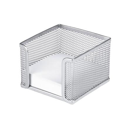 Sølv memoholder tråd metal - til 10 x 10 cm blokke