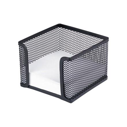 Sort memoholder tråd metal - til 10 x 10 cm blokke