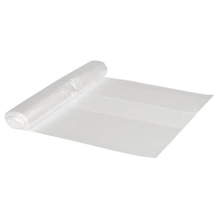 Spandepose, LDPE, transparent, med stjernebund, uden tryk, 15 my, 65x70 cm, 45L, 40stk/rl.