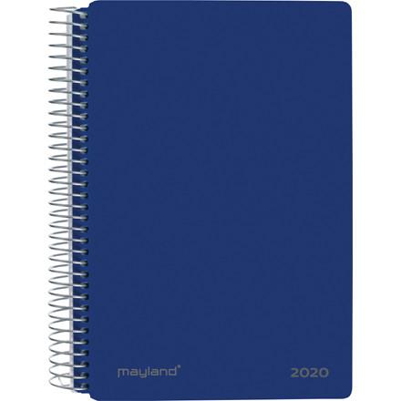 Spiralkalender blå PP 12x17cm 1 dag/side 20 2100 20