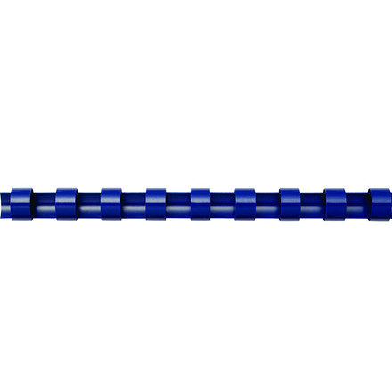 Spiralryg - Fellowes A4 blå 6 mm til 11-20 ark - 100 stk