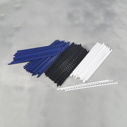 Spiralryg -  Fellowes A4 hvid 6 mm til 11-20 ark - 100 stk