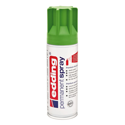 Edding Spray yellow green mat - 927 200 ml