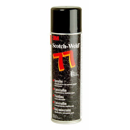 3M Scotch-weld 77 spraylim permanent klæb - 500 ml
