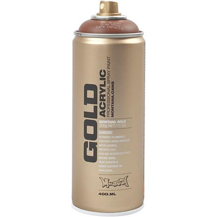 Spraymaling, brun, 400ml