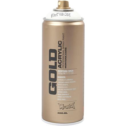 Spraymaling, hvid, 400ml