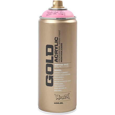 Spraymaling, lys pink, 400ml
