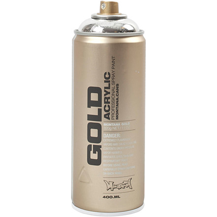 Spraymaling sølv | 400 ml