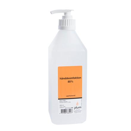 Håndssprit 85% flydende 600ml pumpeflaske