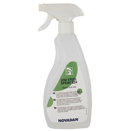 Novadan Uni Steel Spray 324 Stålpleje - 750 ml