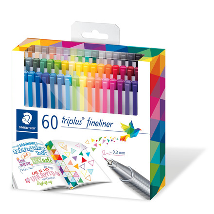 Staedtler Fineliner Triplus 0,3mm ass (60)