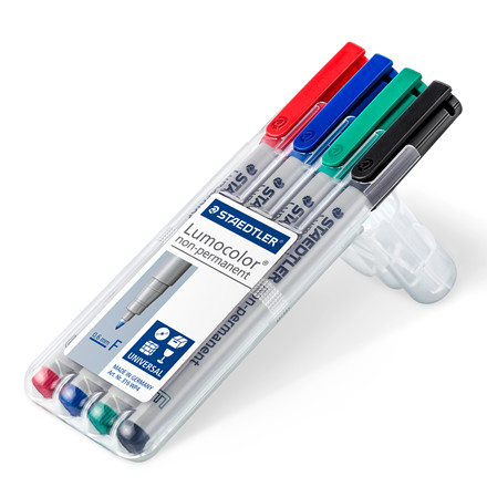 Staedtler Marker Lumocolor Non-P 0,6mm ass (4)