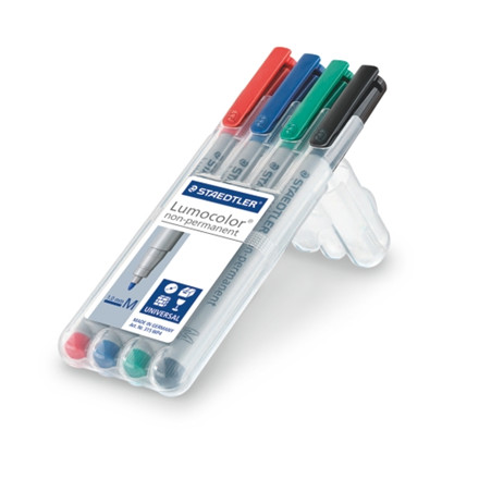 Staedtler Marker Lumocolor Non-P 1,0mm ass (4)