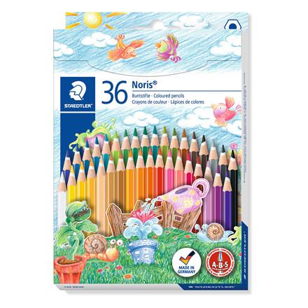 Staedtler Noris Club Farveblyanter - Sæt med 36 farver