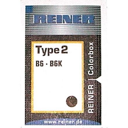 Stempelpude til Reiner B6K type 2 - sort