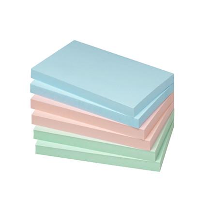 Sticknotes - Info 2 x 3 farver 125 x 75 mm 100 ark - 6 blokke