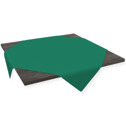 Stikdug Dunicel mørkegrøn 84 x 84 cm - 100 stk.