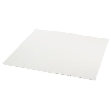 Stikdug papir med PE-belægning hvid - 100 x 100 cm - 25 stk.